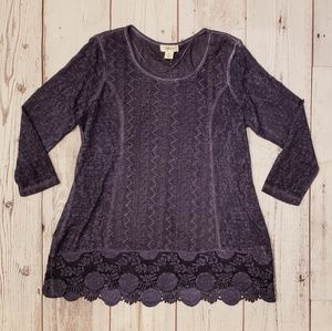 Style & Co Tops - Style & Co Purple Top 🥂